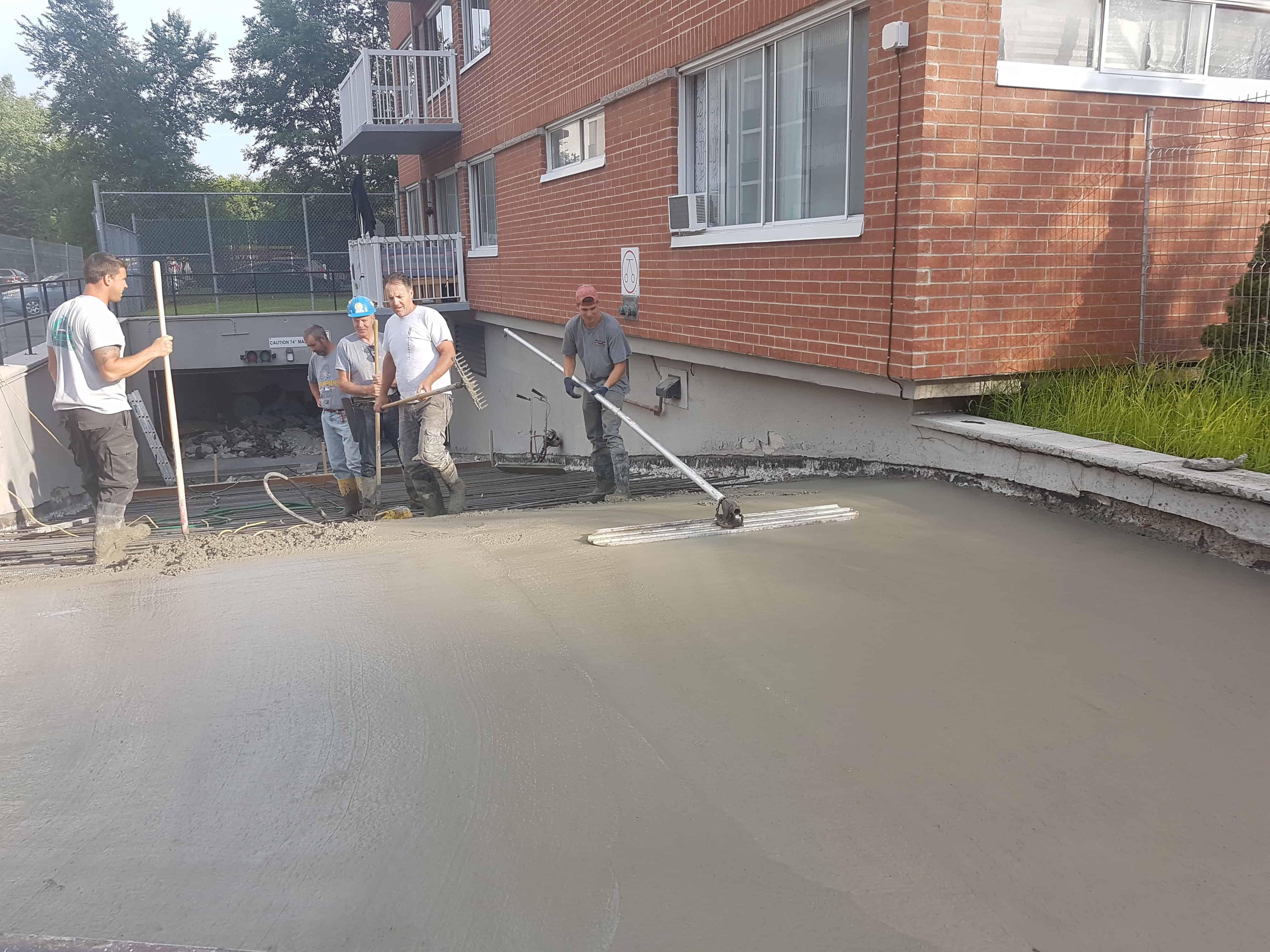 Montreal reparation de beton