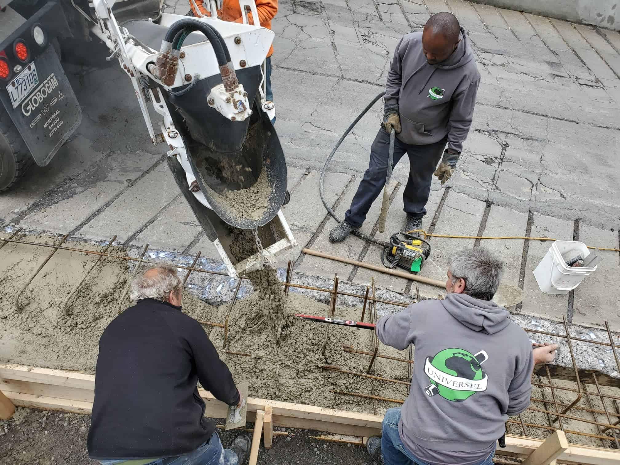Concrete company Montreal