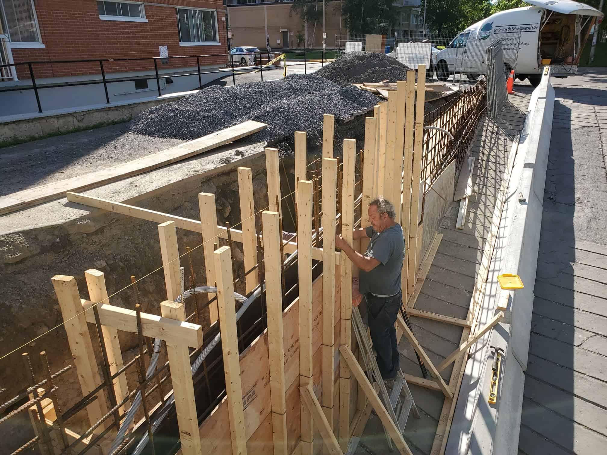 Concrete repair Montreal