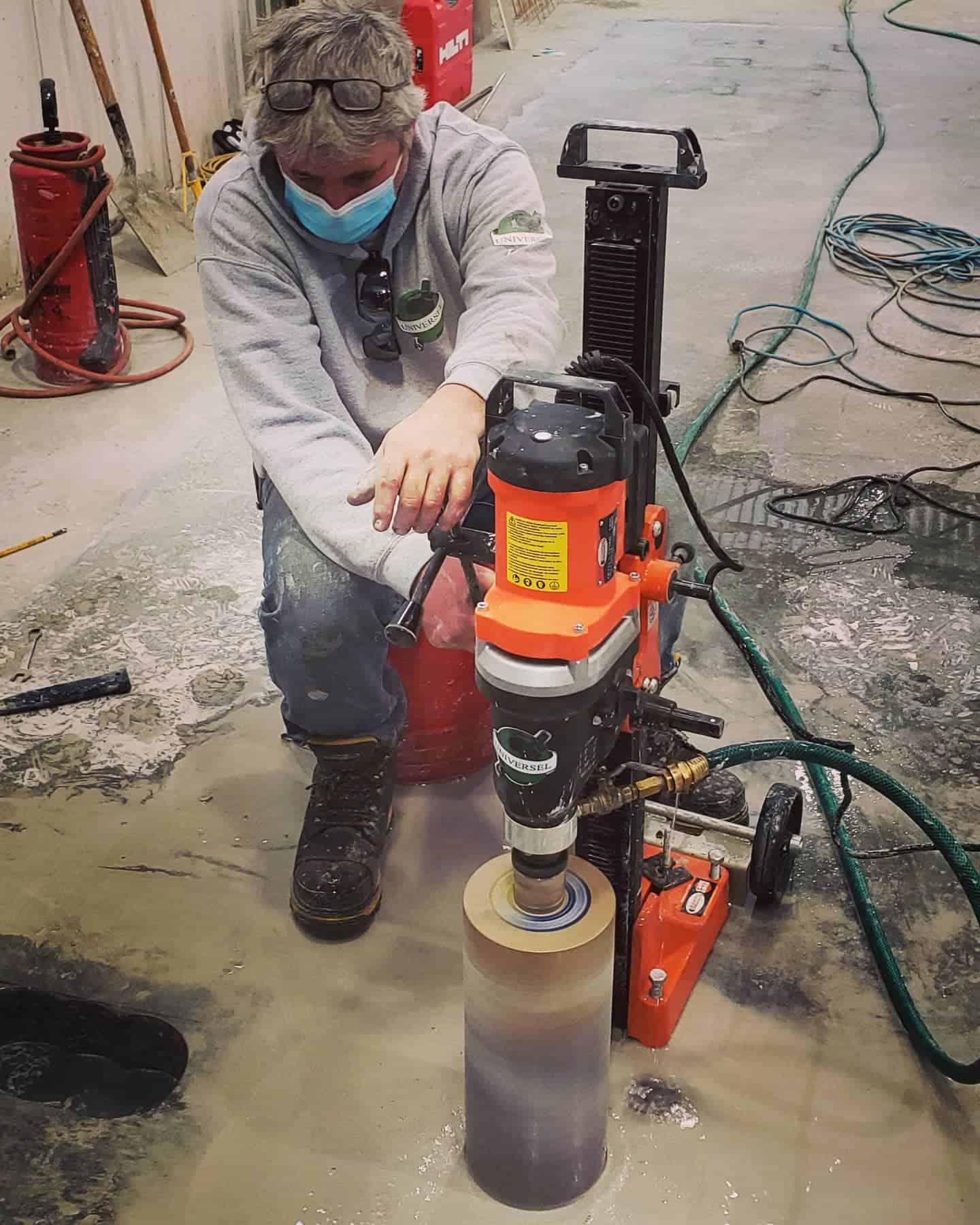Montreal concrete drilling