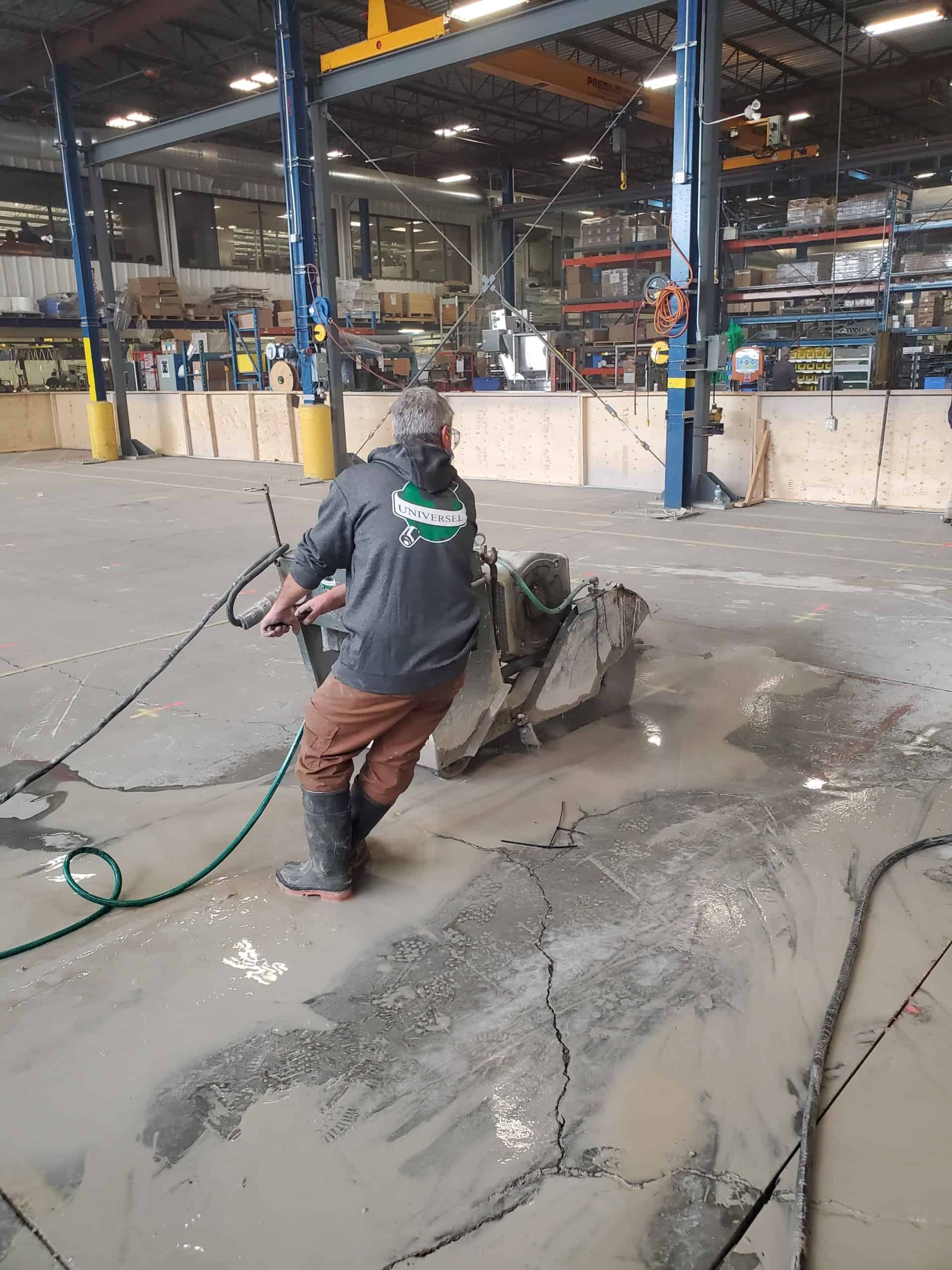 Montreal concrete sawing